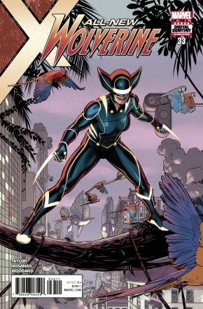 ALL NEW WOLVERINE #33