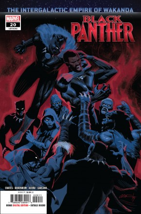 BLACK PANTHER #20 (2018 SERIES)