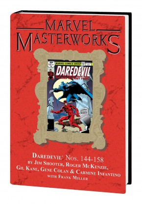 MARVEL MASTERWORKS DAREDEVIL VOLUME 14 DM VARIANT #285 EDITION HARDCOVER