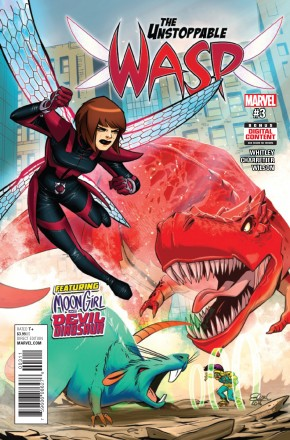 UNSTOPPABLE WASP #3 (2017 SERIES)