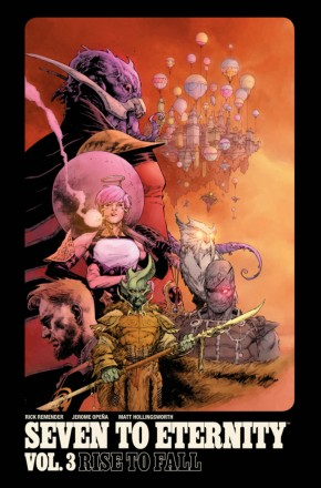 SEVEN TO ETERNITY VOLUME 3 RISE TO FALL GRAPHIC NOVEL