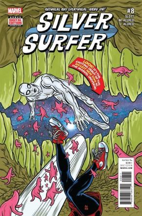 SILVER SURFER #8 (2016 SERIES)