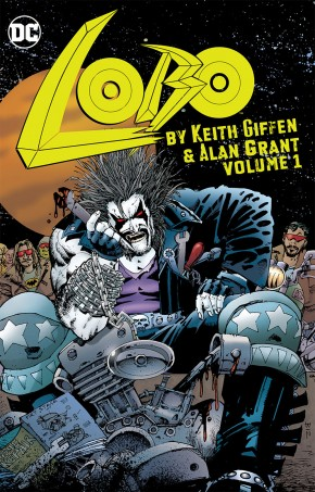 LOBO BY KEITH GIFFEN AND ALAN GRANT VOLUME 1 GRAPHIC NOVEL