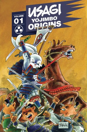 USAGI YOJIMBO ORIGINS VOLUME 1 GRAPHIC NOVEL