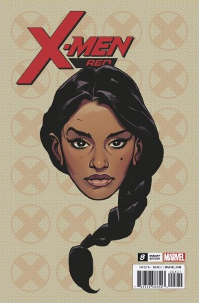 X-MEN RED #8 CHAREST HEADSHOT 1 IN 10 INCENTIVE VARIANT