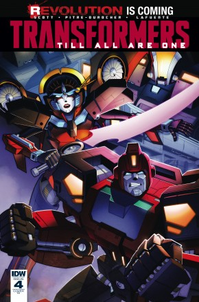TRANSFORMERS TILL ALL ARE ONE #4 1 IN 10 INCENTIVE VARIANT COVER