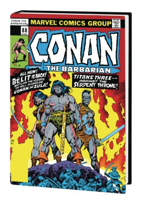 CONAN THE BARBARIAN THE ORIGINAL MARVEL YEARS OMNIBUS VOLUME 4 HARDCOVER
