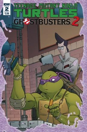TEENAGE MUTANT NINJA TURTLES GHOSTBUSTERS II #2