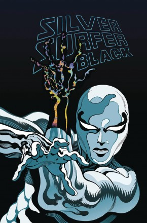 SILVER SURFER BLACK TREASURY EDITION GRAPHIC NOVEL