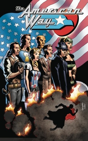 AMERICAN WAY 10TH ANNIVERSARY EDITION GRAPHIC NOVEL