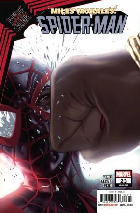 MILES MORALES SPIDER-MAN #23 (2018 SERIES) KING IN BLACK TIE-IN