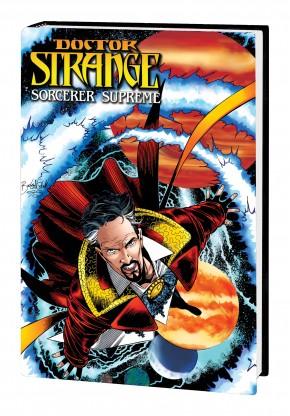 DOCTOR STRANGE SORCERER SUPREME OMNIBUS VOLUME 3 BUCKINGHAM DM VARIANT COVER HARDCOVER
