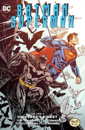BATMAN SUPERMAN VOLUME 6 UNIVERSES FINEST HARDCOVER