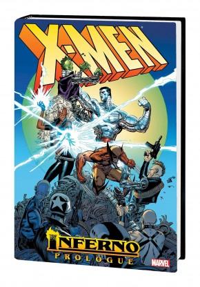 X-MEN INFERNO PROLOGUE OMNIBUS HARDCOVER MARC SILVESTRI COVER
