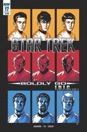 STAR TREK BOLDLY GO #17