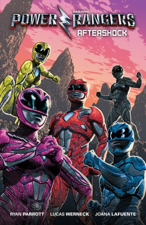 SABANS POWER RANGERS AFTERSHOCK MOVIE GRAPHIC NOVEL PREVIEWS EXCLUSIVE COVER