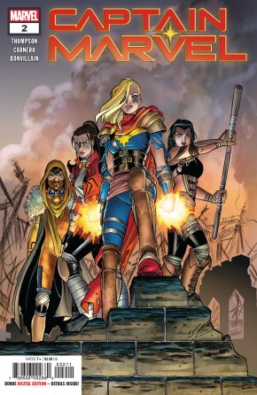 CAPTAIN MARVEL #2 (2019 SERIES) 1ST PRINTING