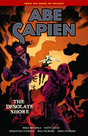 ABE SAPIEN VOLUME 8 DESOLATE SHORE GRAPHIC NOVEL