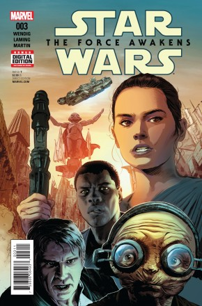 STAR WARS FORCE AWAKENS ADAPTATION #3