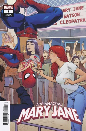 AMAZING MARY JANE #1 RUD 1 IN 10 INCENTIVE VARIANT