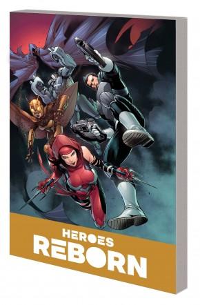 HEROES REBORN AMERICA MIGHTIEST HERO COMPANION VOLUME 2 GRAPHIC NOVEL