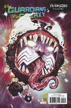 ALL NEW GUARDIANS OF THE GALAXY #9 VENOMIZED EGO VARIANT