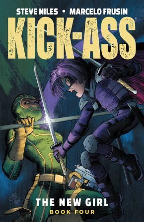 KICK-ASS NEW GIRL VOLUME 4 GRAPHIC NOVEL