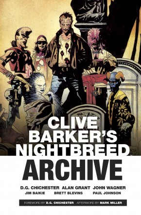 CLIVE BARKERS NIGHTBREED ARCHIVE HARDCOVER