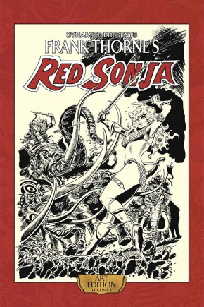 FRANK THORNE RED SONJA VOLUME 3 ARTIST EDITION HARDCOVER