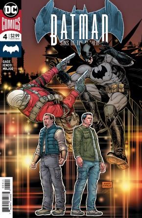 BATMAN SINS OF THE FATHER #4