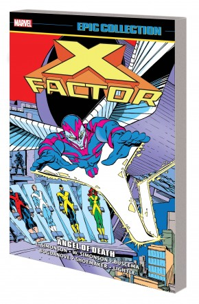 X-FACTOR EPIC COLLECTION ANGEL OF DEATH GRAPHIC NOVEL