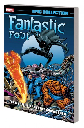 FANTASTIC FOUR EPIC COLLECTION THE MYSTERY OF THE BLACK PANTHER GRAPHIC NOVEL