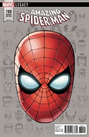 AMAZING SPIDER-MAN #789 (2015 SERIES) LEGACY MCKONE HEADSHOT VARIANT