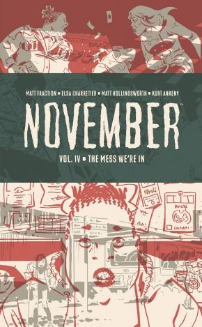 NOVEMBER VOLUME 4 HARDCOVER