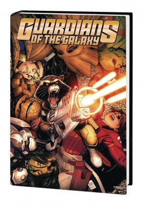 GUARDIANS OF THE GALAXY VOLUME 4 HARDCOVER