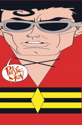 PLASTIC MAN RUBBER BANDED DELUXE EDITION HARDCOVER