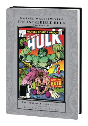 MARVEL MASTERWORKS INCREDIBLE HULK VOLUME 14 HARDCOVER