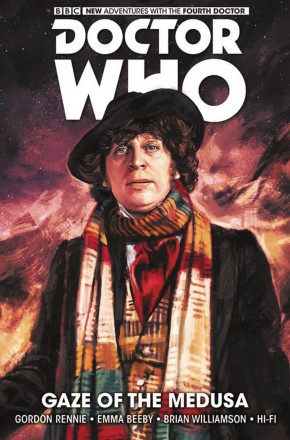DOCTOR WHO 4TH DOCTOR GAZE OF THE MEDUSA HARDCOVER