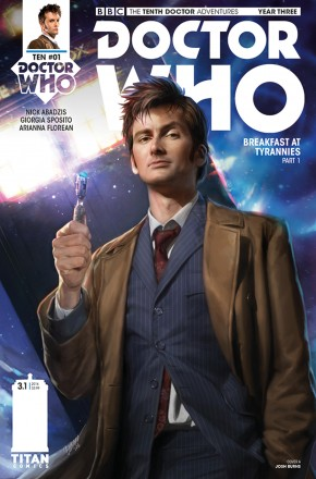 DOCTOR WHO 10TH YEAR THREE #1