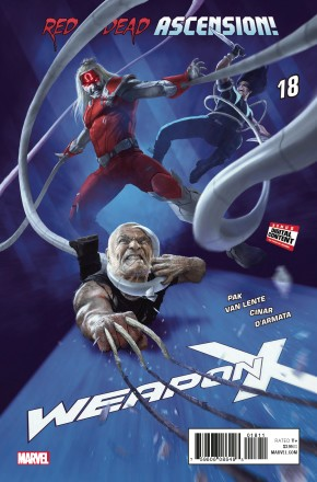 WEAPON X #18 (2017 SERIES)