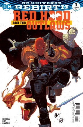 RED HOOD AND THE OUTLAWS VOLUME 2 #1 VARIANT EDITION