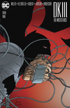 DARK KNIGHT III MASTER RACE #9 QUITELY 1 IN 100 INCENTIVE VARIANT COVER