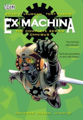 EX MACHINA THE COMPLETE SERIES OMNIBUS HARDCOVER