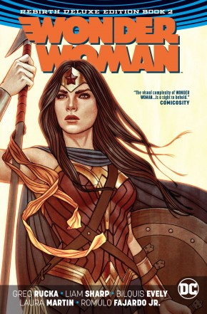 WONDER WOMAN REBIRTH DELUXE COLLECTION BOOK 2 HARDCOVER