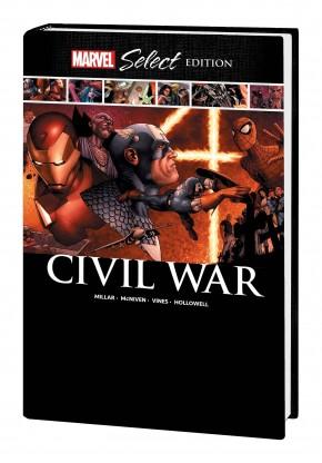 CIVIL WAR MARVEL SELECT HARDCOVER