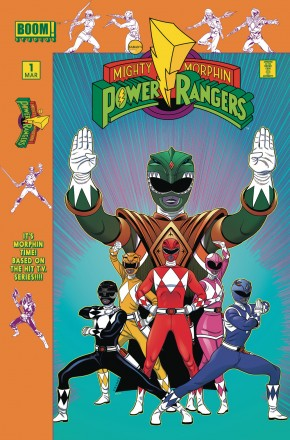 MIGHTY MORPHIN POWER RANGERS #1 LAUNCH PARTY INCENTIVE VARIANT COVER