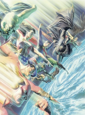 ABS JUSTICE LEAGUE WORLDS GREATEST SUPERHEROES HARDCOVER
