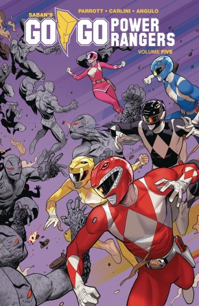 GO GO POWER RANGERS VOLUME 5 GRAPHIC NOVEL