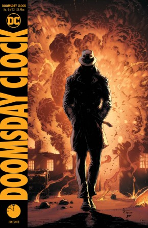 DOOMSDAY CLOCK #4 VARIANT
