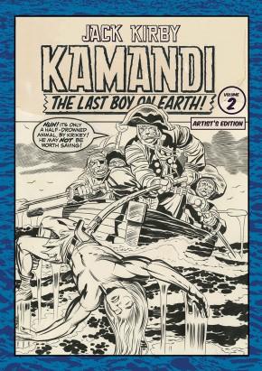 JACK KIRBY KAMANDI VOLUME 2 ARTIST EDITION HARDCOVER